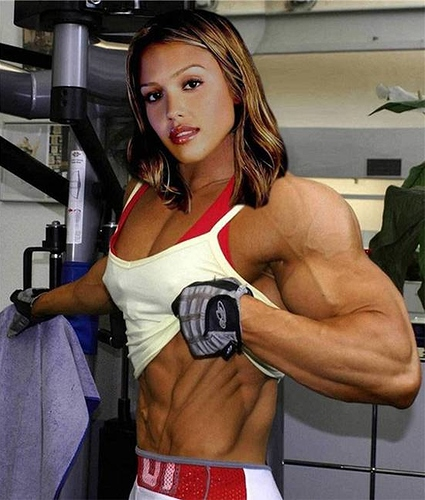 Image result for woman on steroids